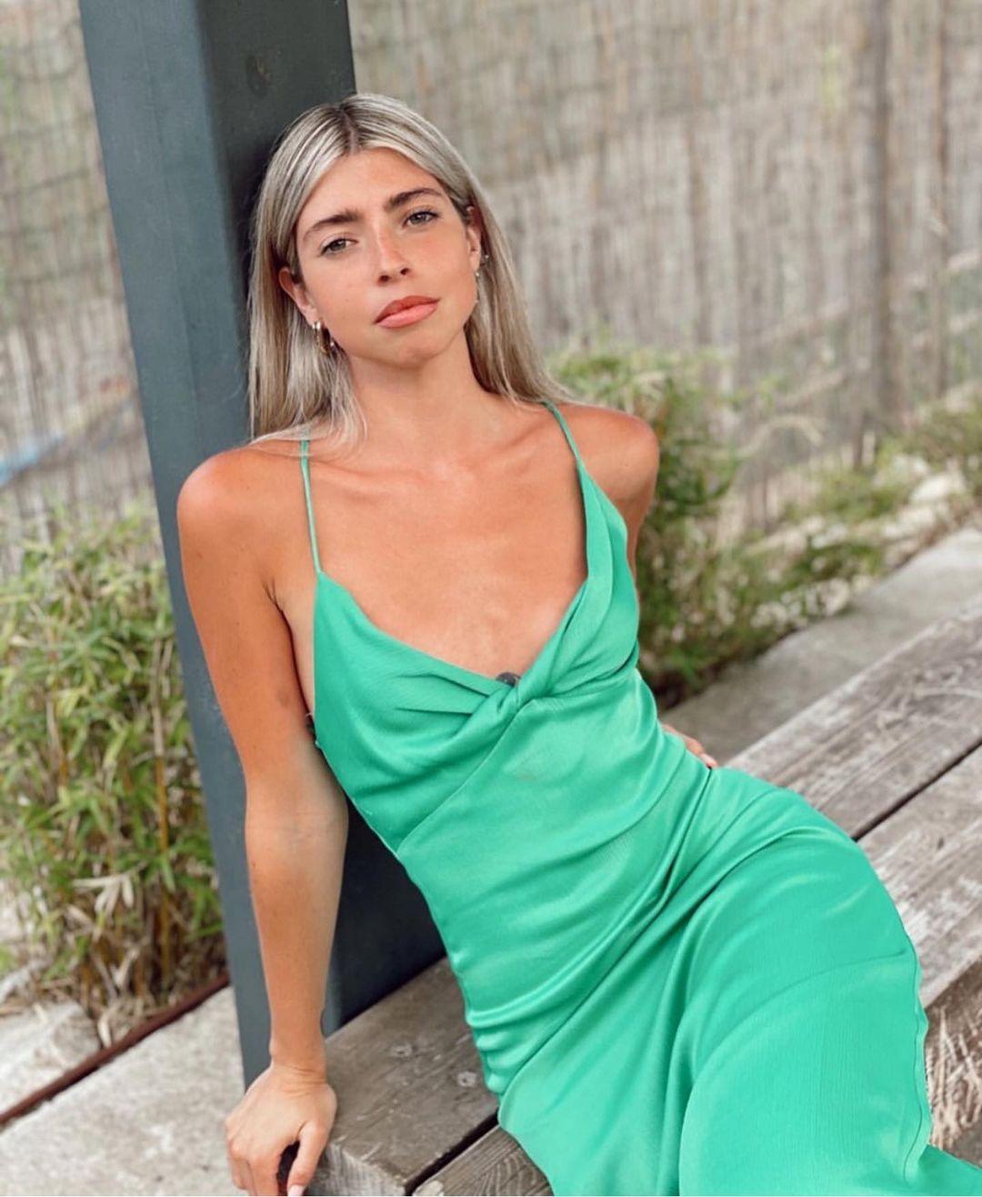 long dress with ruching de Zara sur zaradiccion__