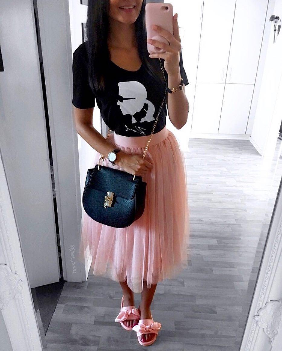 powder tulle skirt de Les Bourgeoises sur just_janni_