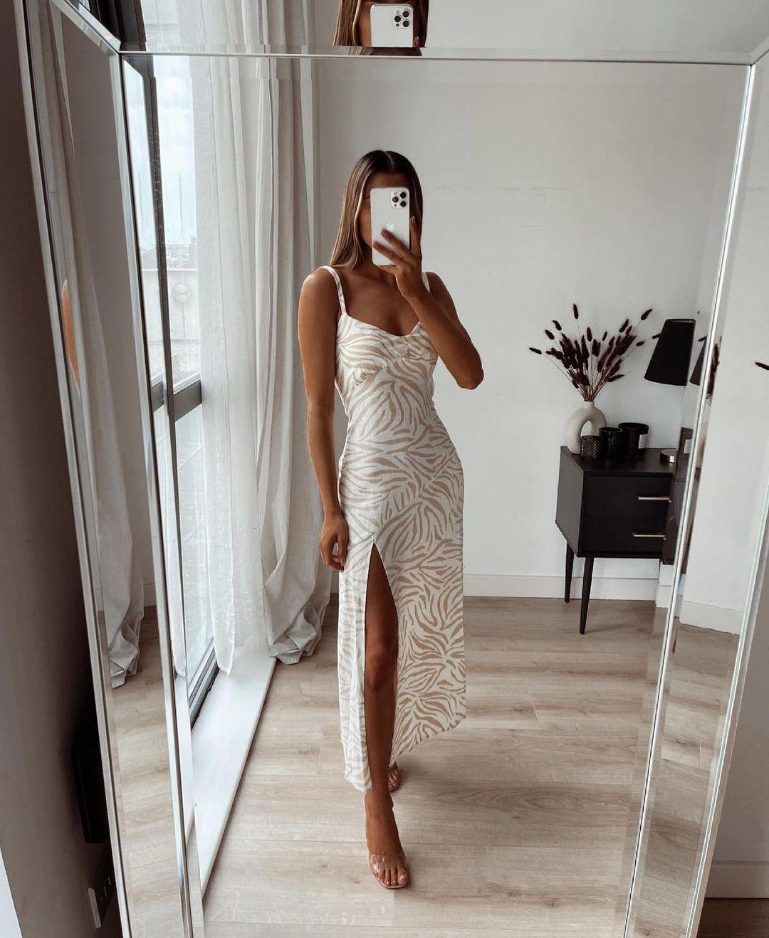 animal print dress de Zara sur zara.outfits