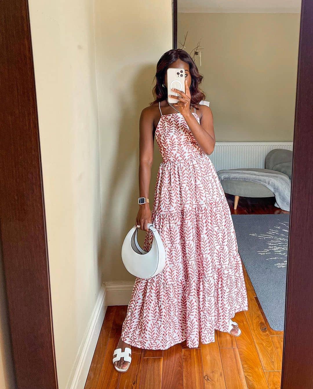 dress serenity de Mango sur mango.outfits