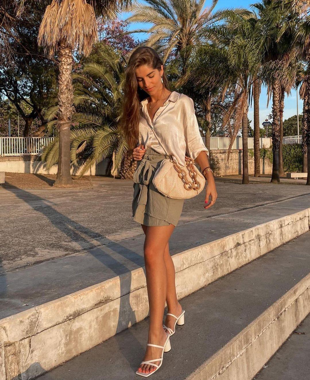raffia shoulder bag de Zara sur zaraaddiction