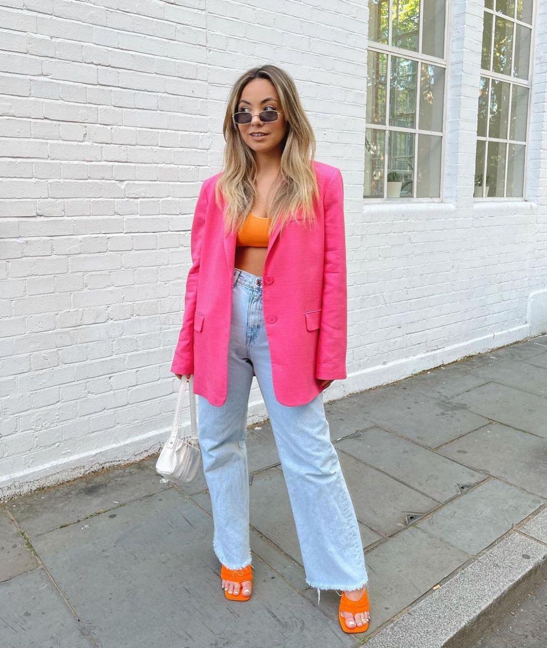 fitted pocket blazer de Zara sur zara.style.daily