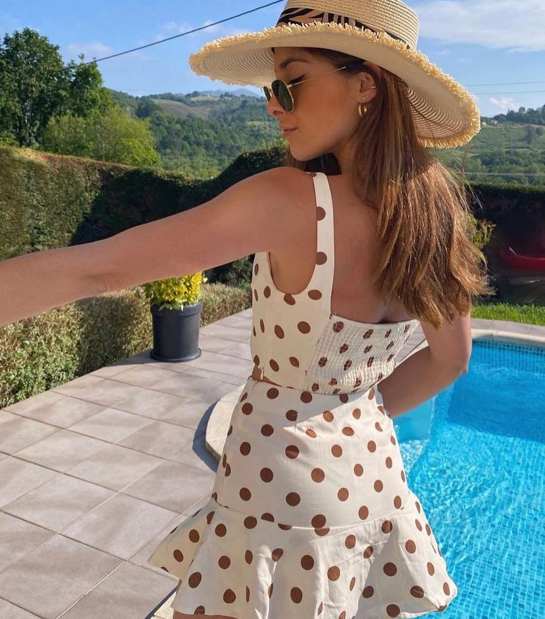 polka dot crop top de Zara sur zaradiccion__