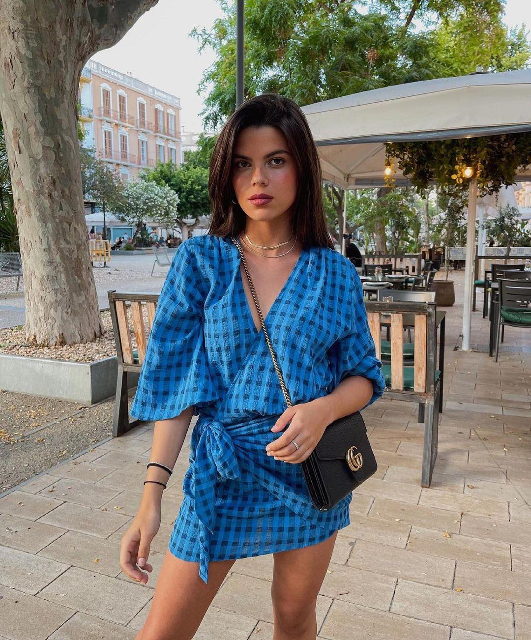short wallet dress de Zara sur zaradiccion__