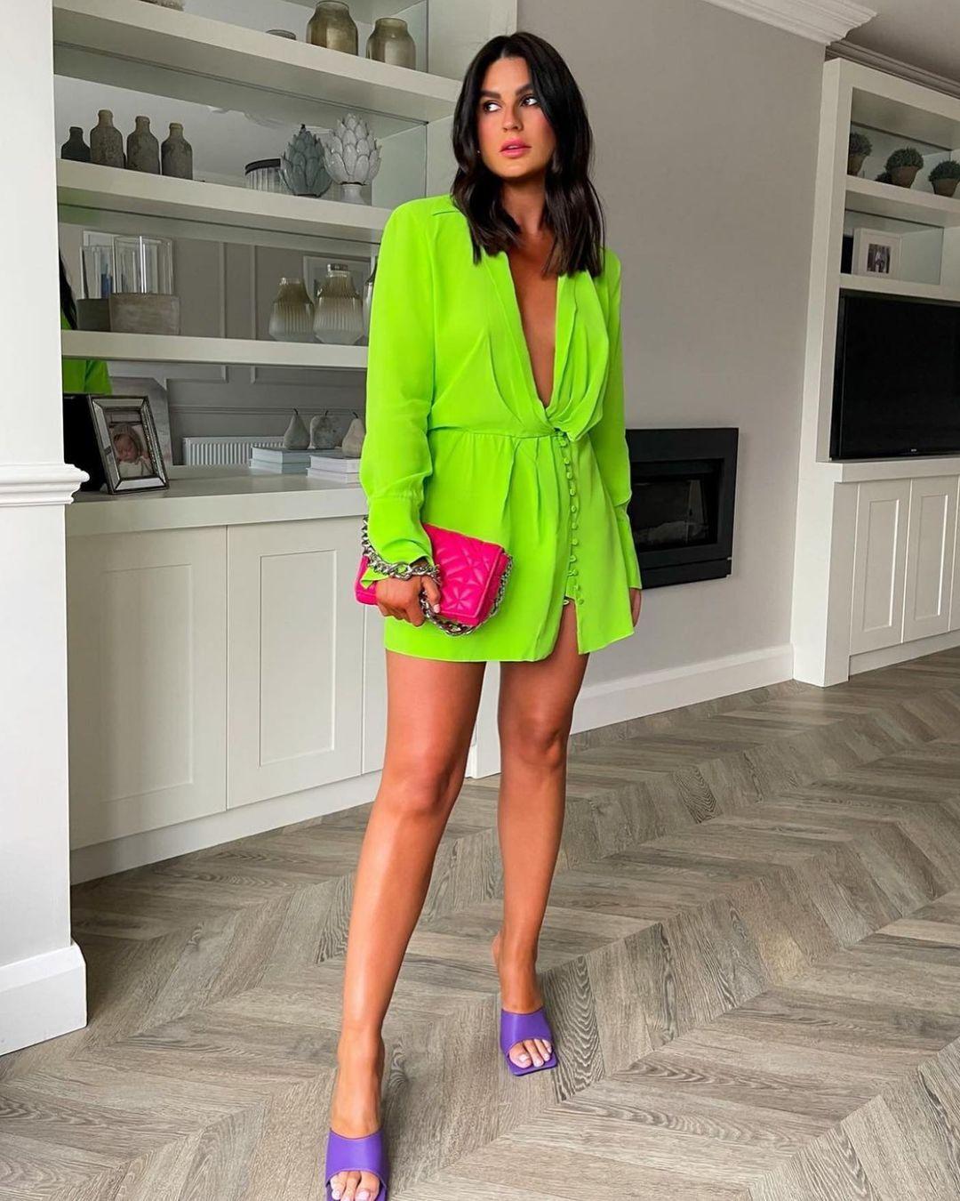 shoulder shirt dress de Zara sur zara.style.daily