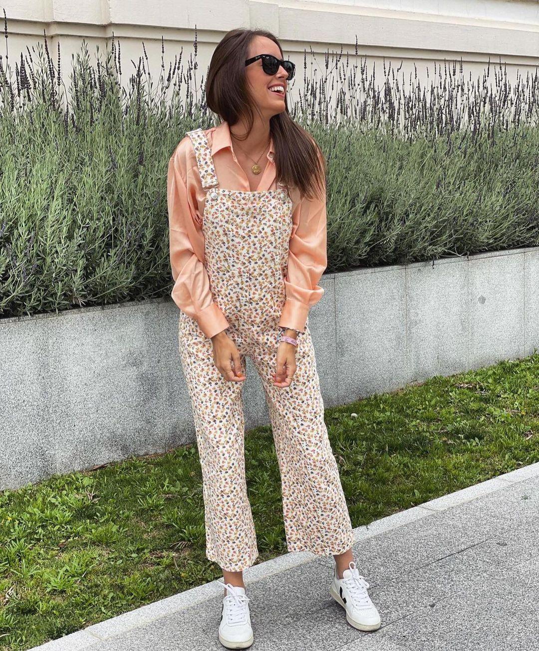 denim jumpsuit de Zara sur zara.outfits