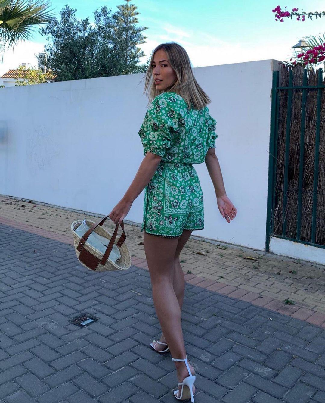 printed shorts de Zara sur zara.outfits