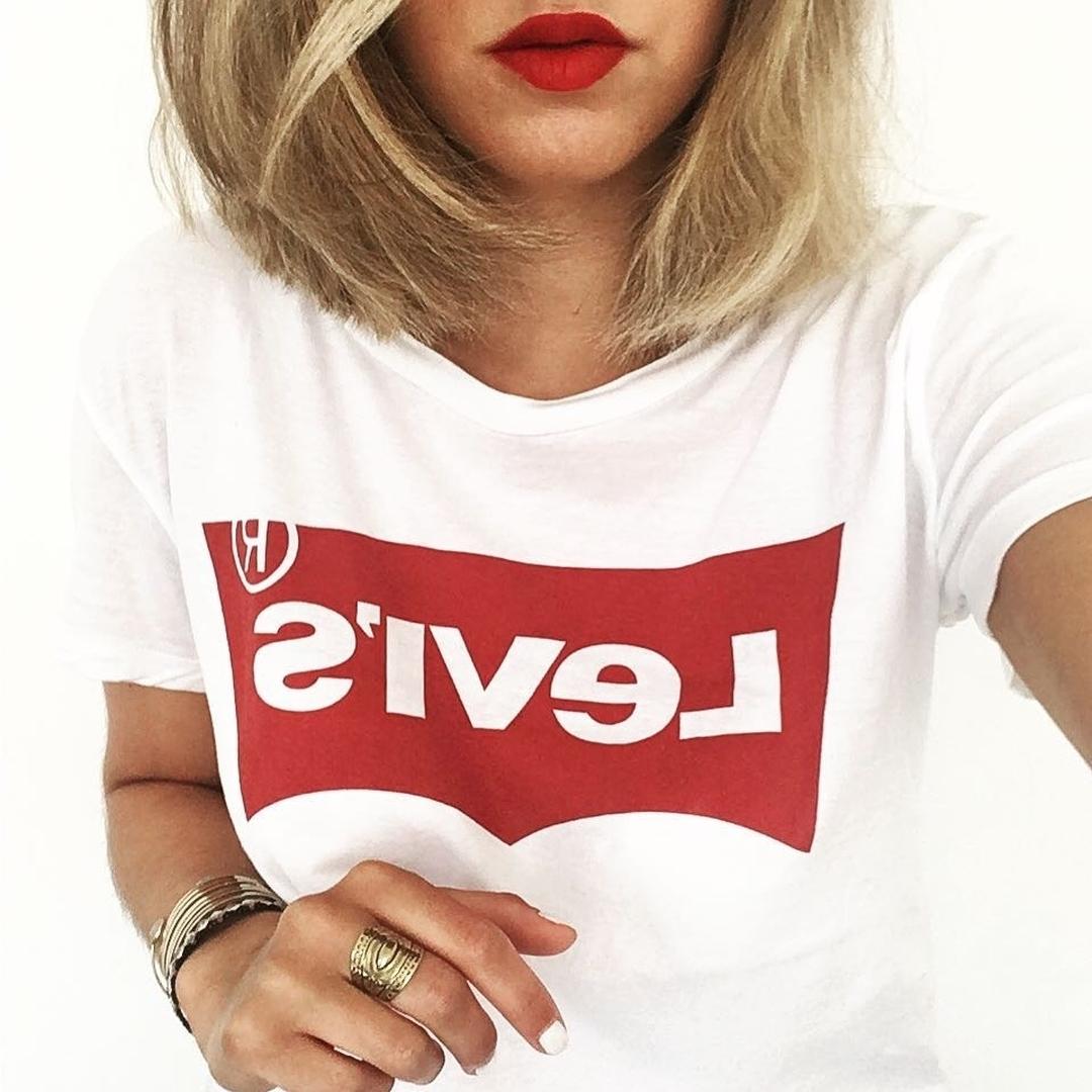 white levis t-shirt de Les Bourgeoises sur levis_fr