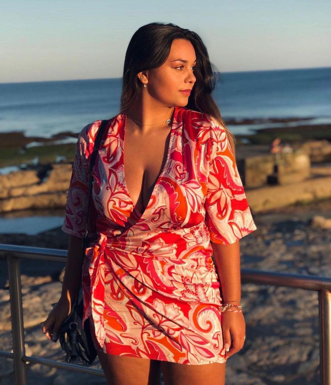 printed short dress de Zara sur zaradiccion__