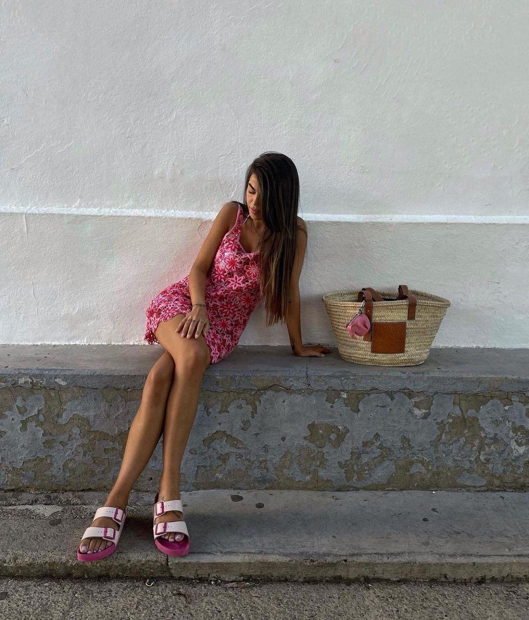 crocheted short dress de Zara sur zaraaddiction