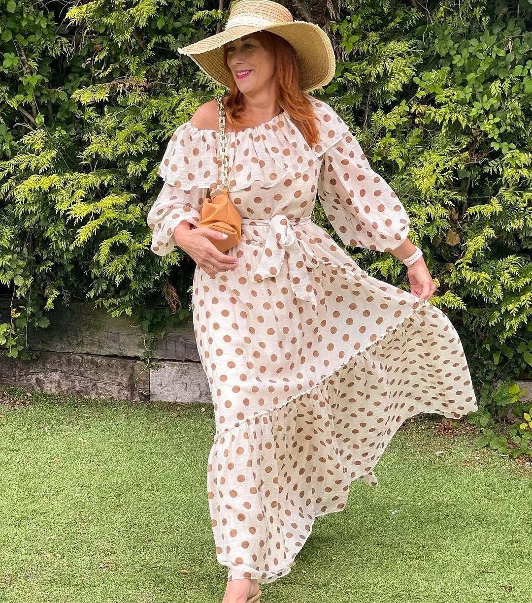 dress tuula de Mango sur mangooutfits