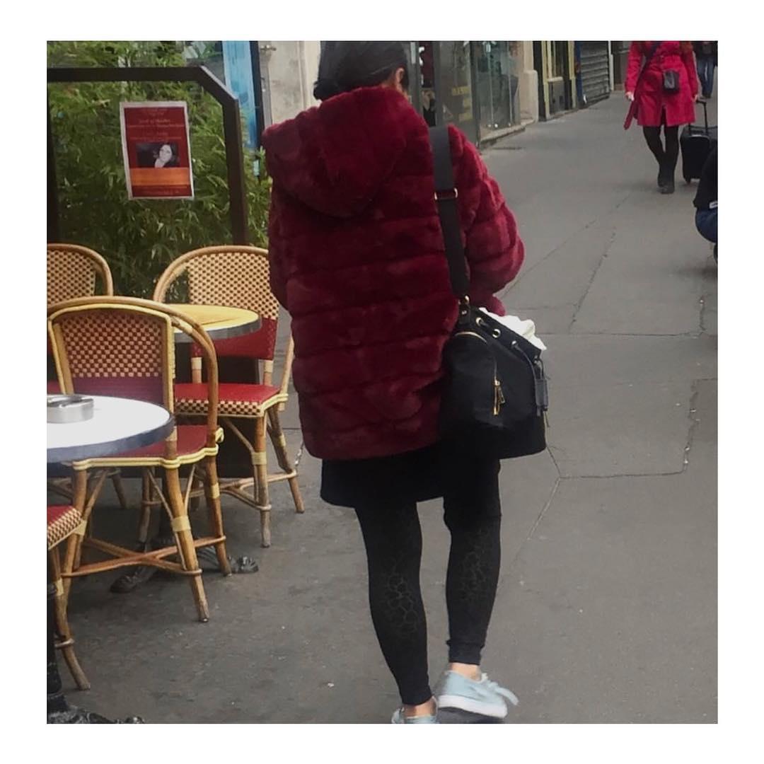 khaki doudou coat de Les Bourgeoises sur goldandsilverparis