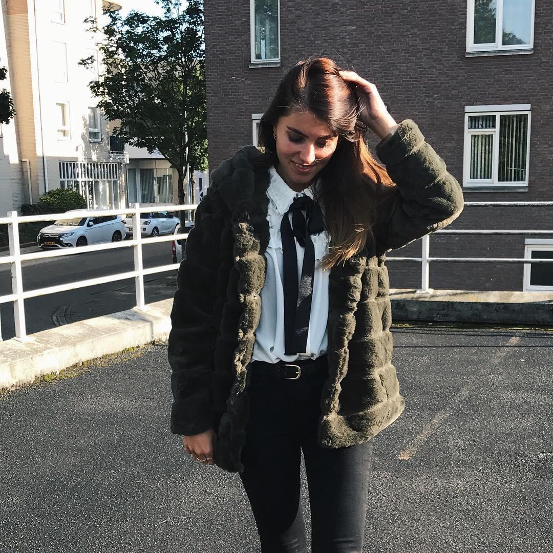 khaki doudou coat de Les Bourgeoises sur anewjacket