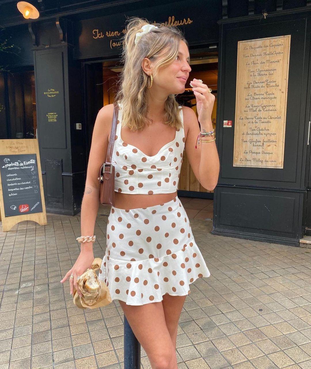 mini ruffle skirt de Zara sur zaraaddiction