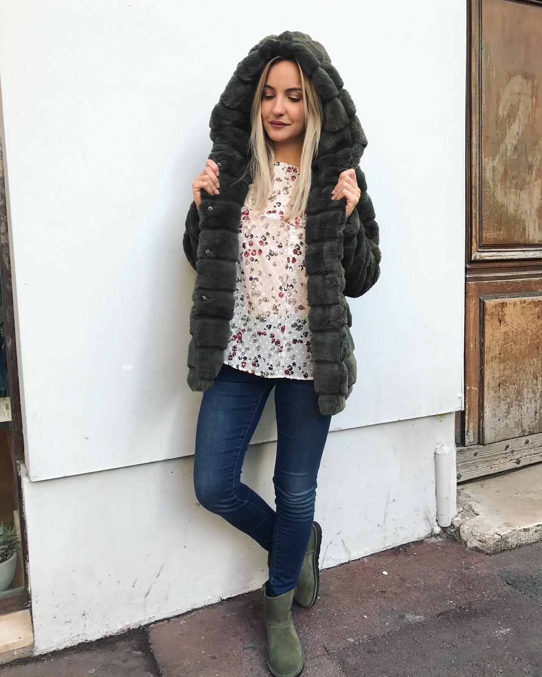 khaki doudou coat de Les Bourgeoises sur laboutiquefriends_marseille