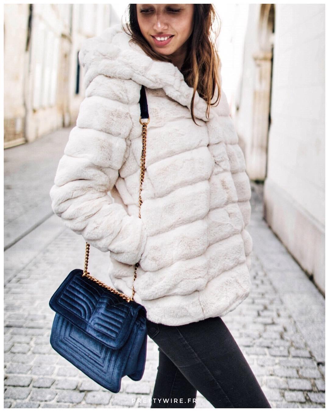 khaki doudou coat de Les Bourgeoises sur prettywireshop