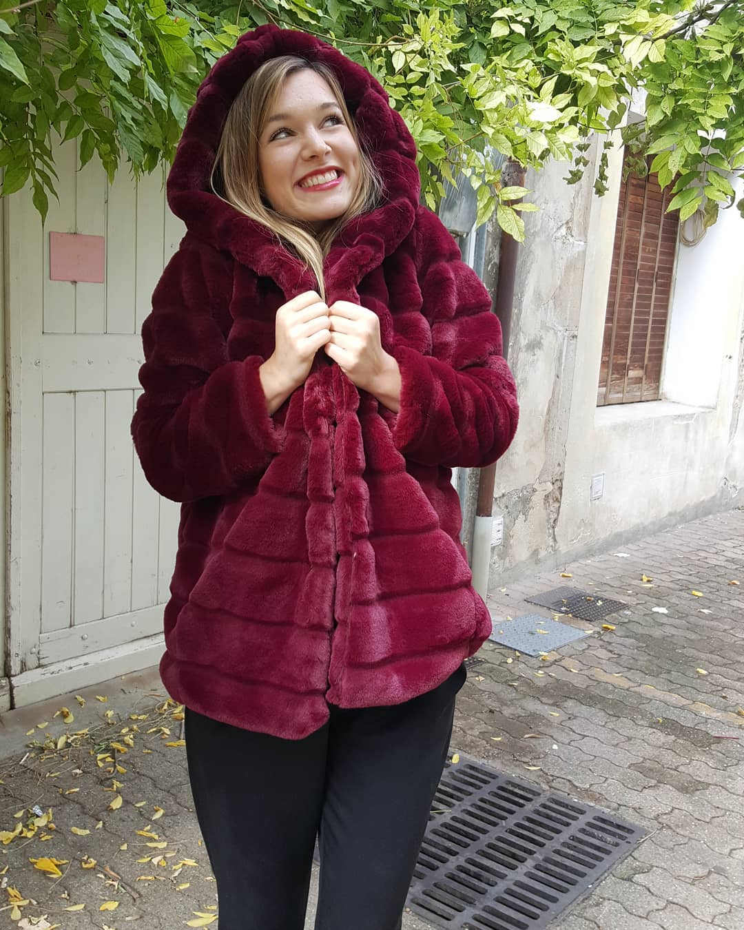 khaki doudou coat de Les Bourgeoises sur natiri.montelimar