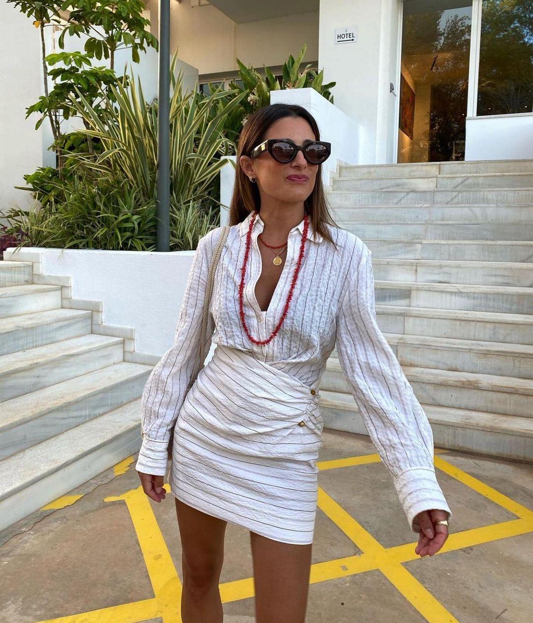 textured draped skirt de Zara sur zaraaddiction