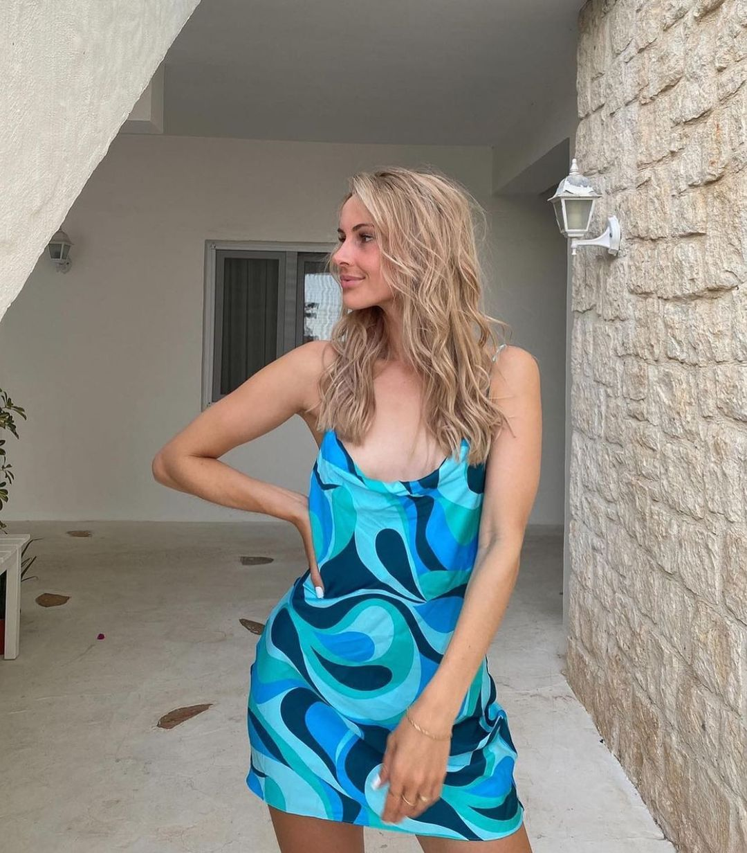 robe fluide imprimée de Zara sur zara.style.daily