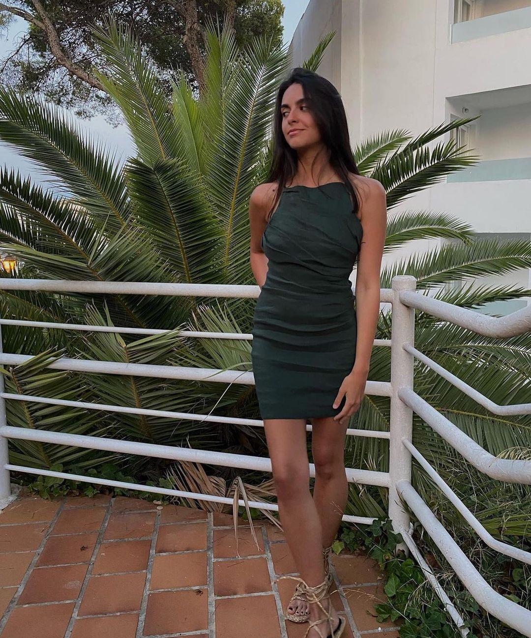 robe avec lin drapé de Zara sur zaradiccion__