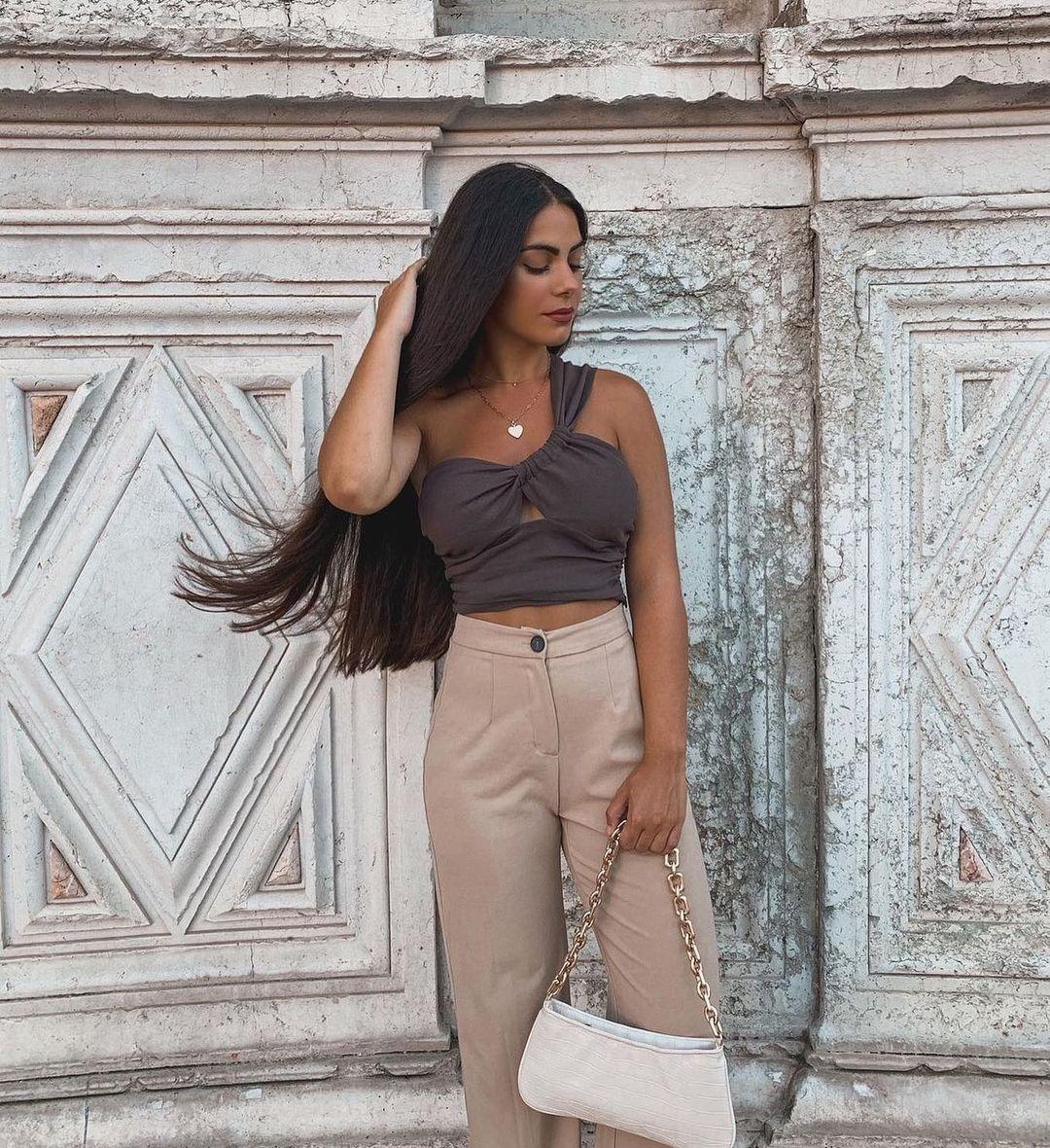 animal print chain shoulder bag de Zara sur zaradiccion__