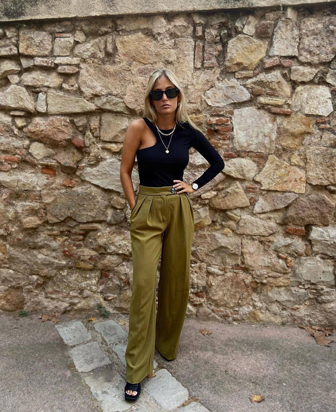 trousers simo-i de Mango sur mango.outfits