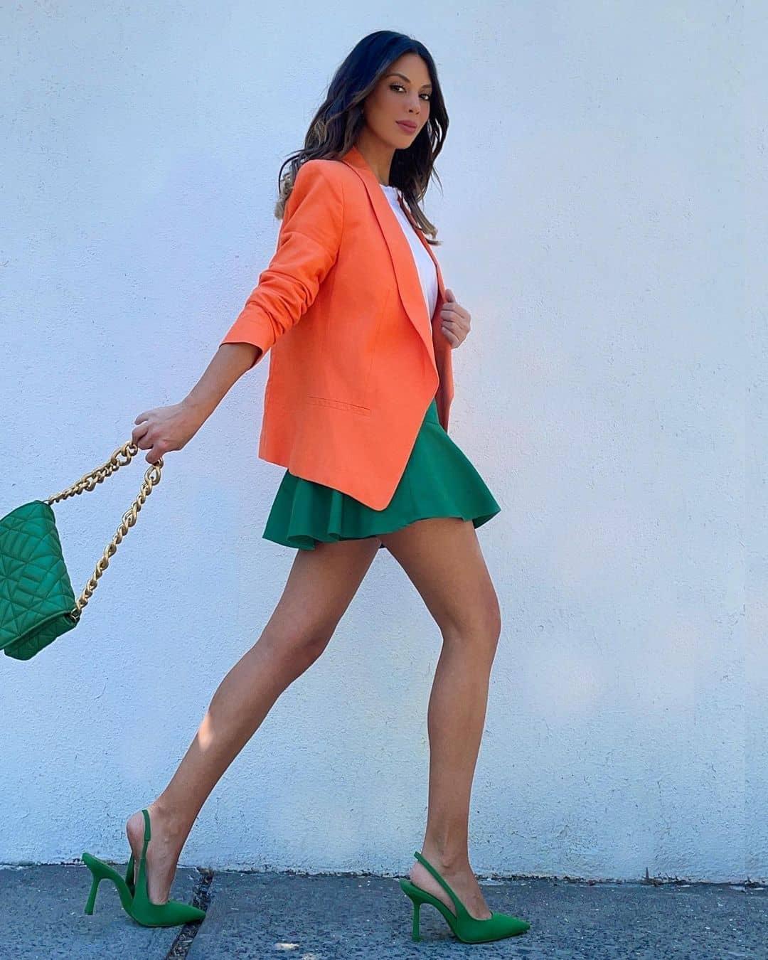 medium quilted shoulder bag with chain de Zara sur mango.outfits