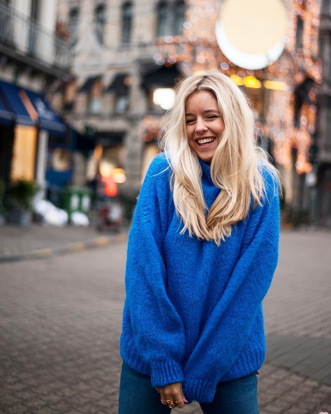 blue indy jumper de Les Bourgeoises sur p.elle_photographie