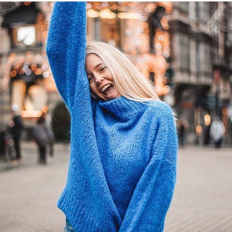 blue indy jumper de Les Bourgeoises sur eeleonormd