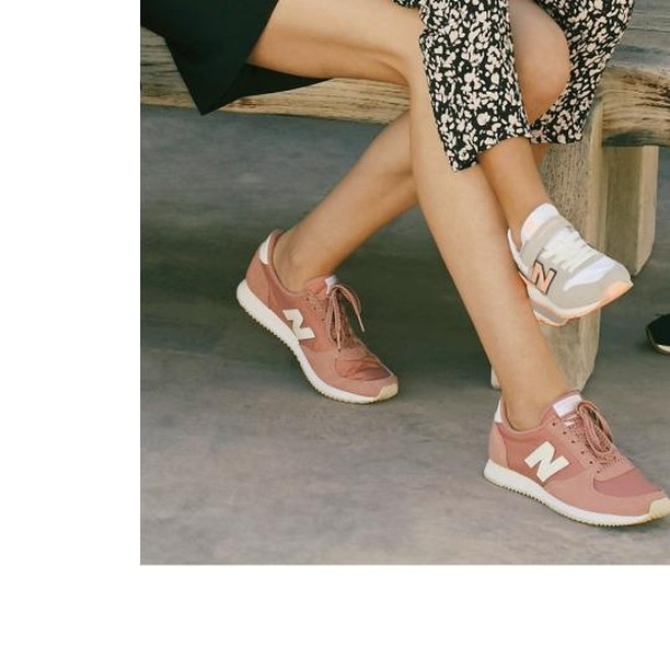 pink new balance® trainers de IKKS sur ikksofficial