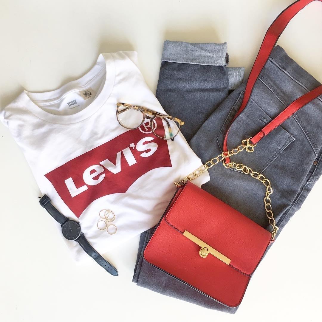 t-shirt levis blanc de Les Bourgeoises sur levis_fr