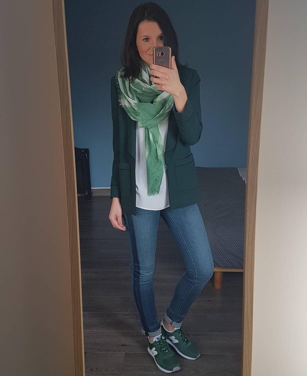 green new balance® trainers de IKKS sur leanestelclem