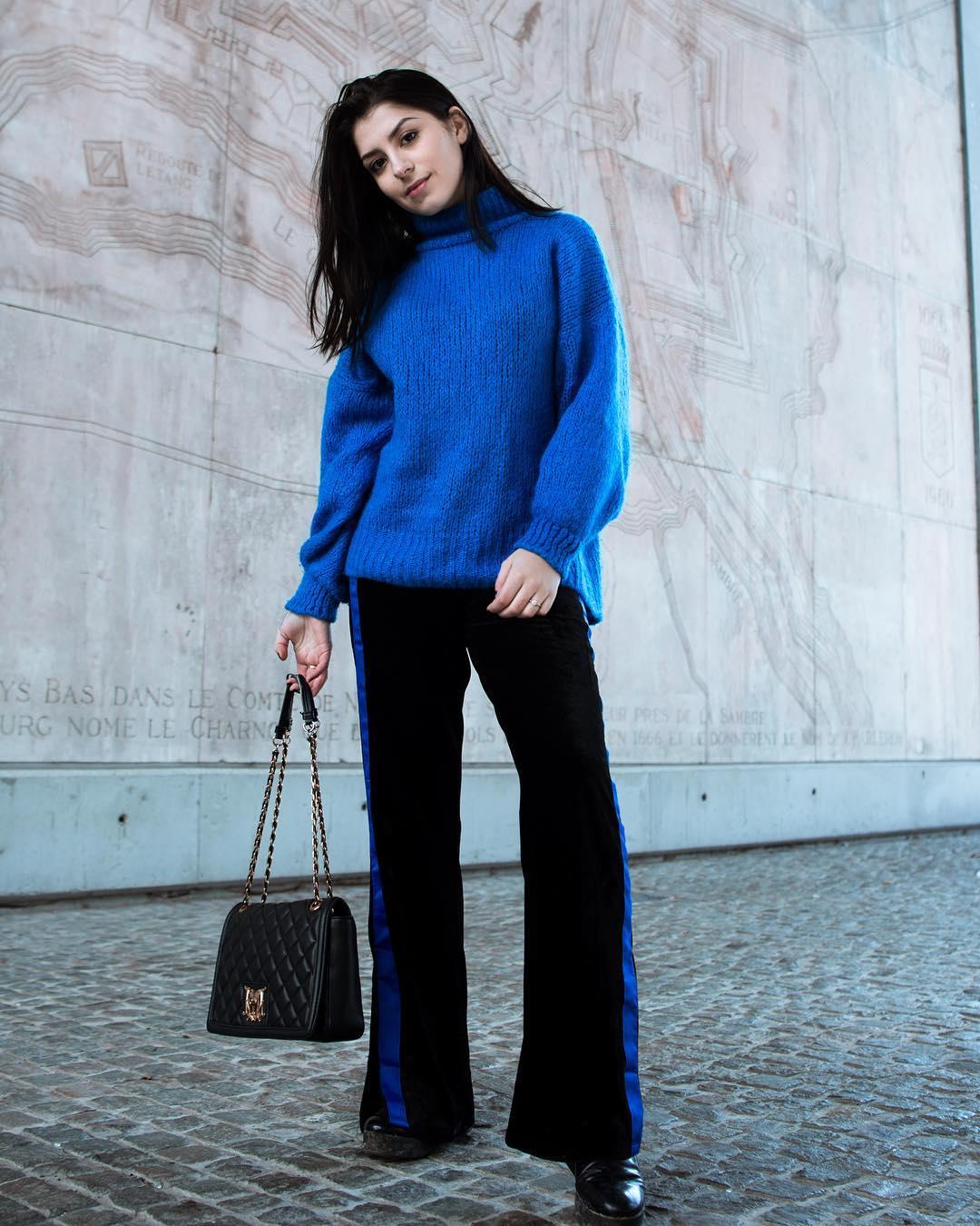 blue indy jumper de Les Bourgeoises sur celiadecoster