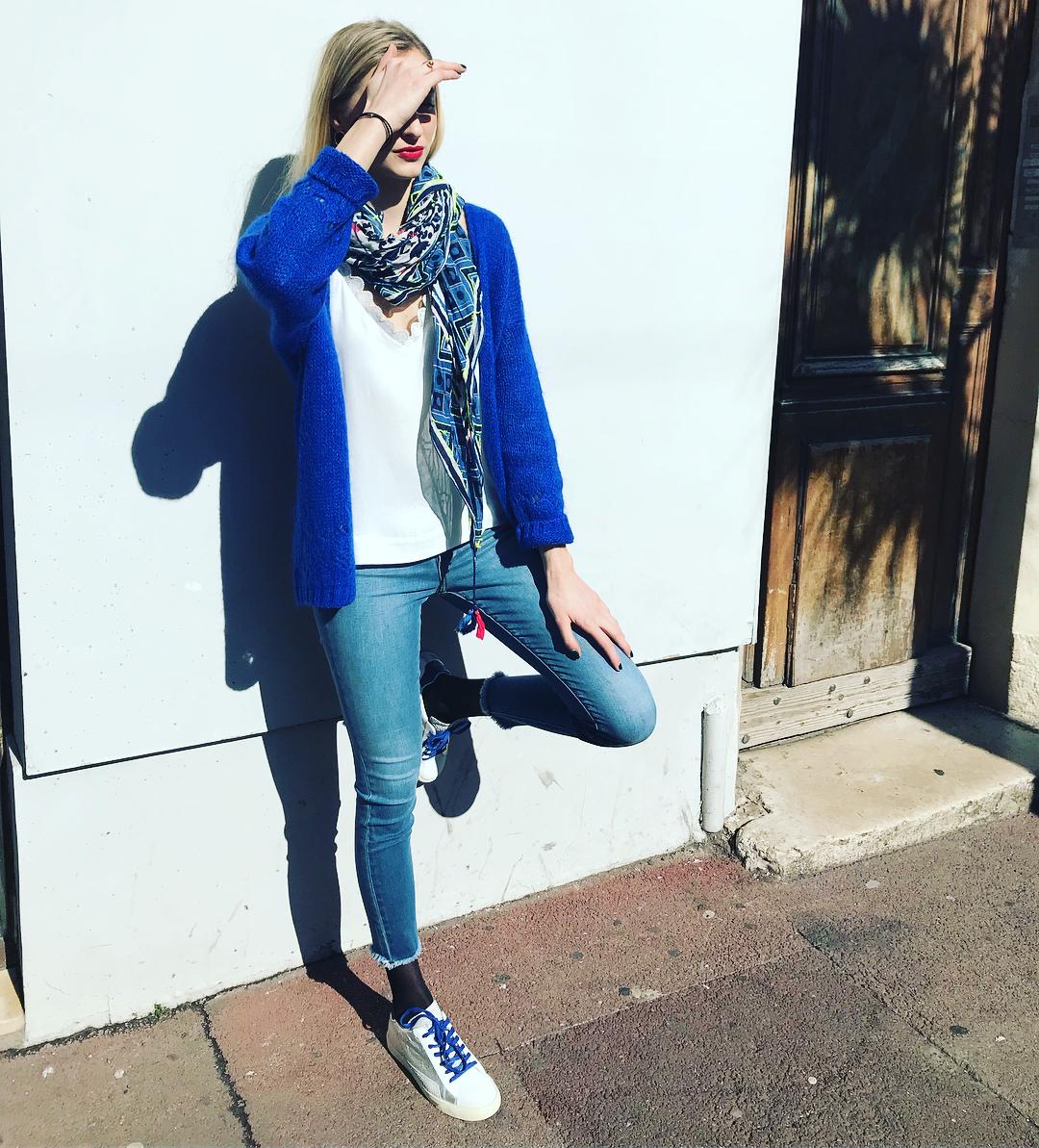 bernadette bleu bic de Les Bourgeoises sur laboutiquefriends_marseille