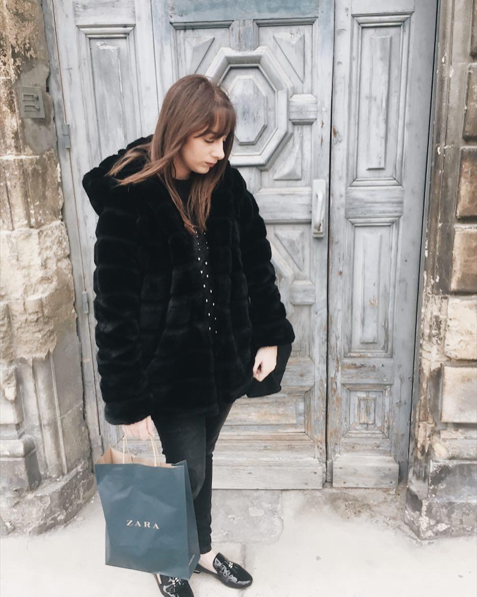 khaki doudou coat de Les Bourgeoises sur fivexseptember
