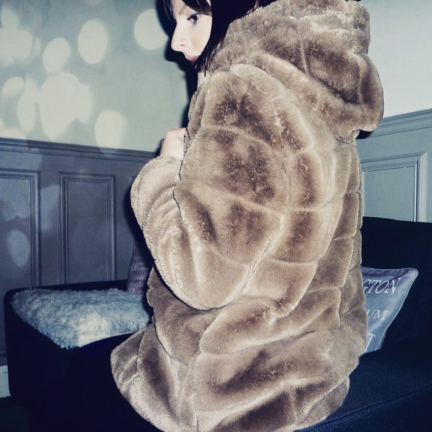 khaki doudou coat de Les Bourgeoises sur jocya.l