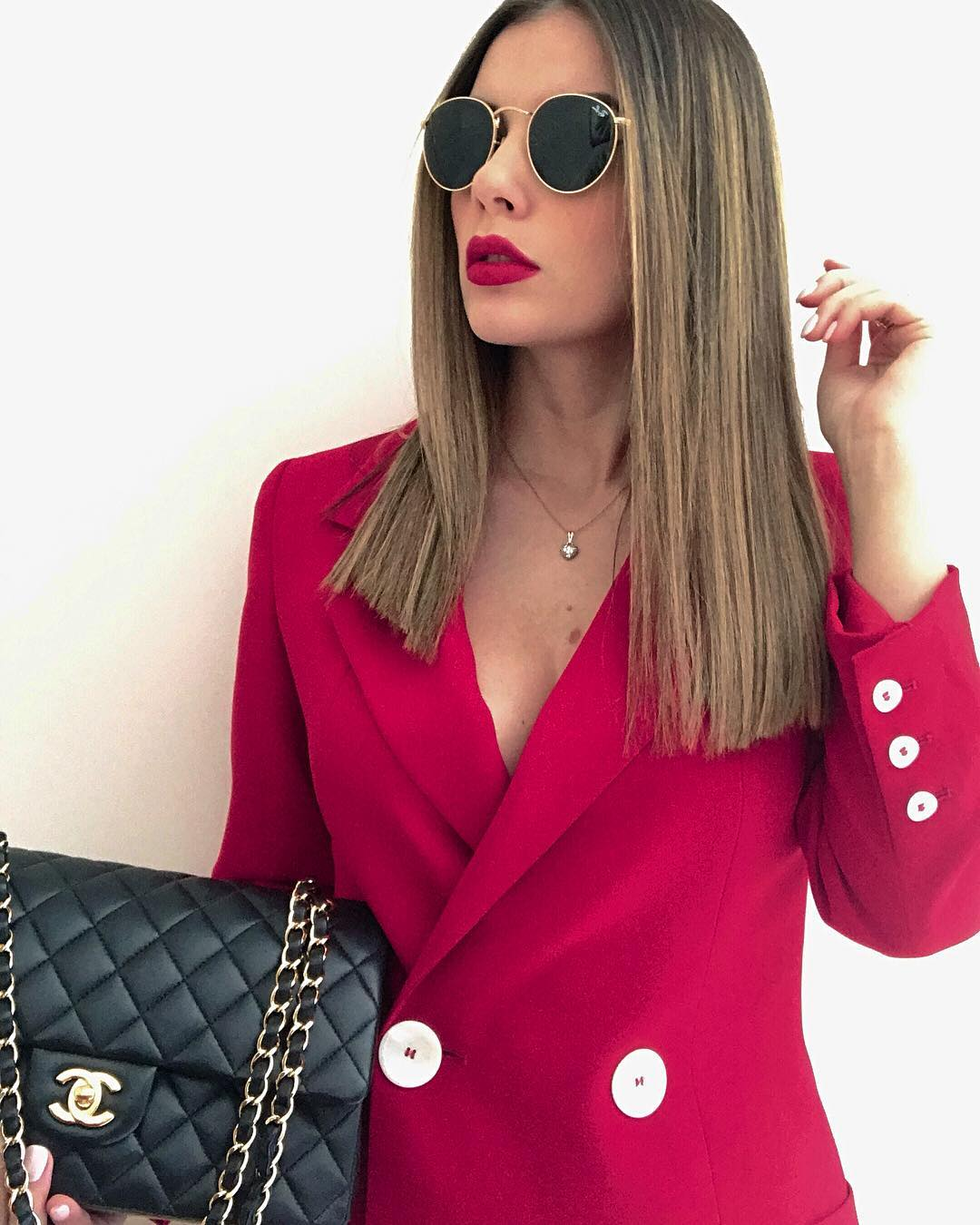 long jacket with buttons de Zara sur raffaellasapia