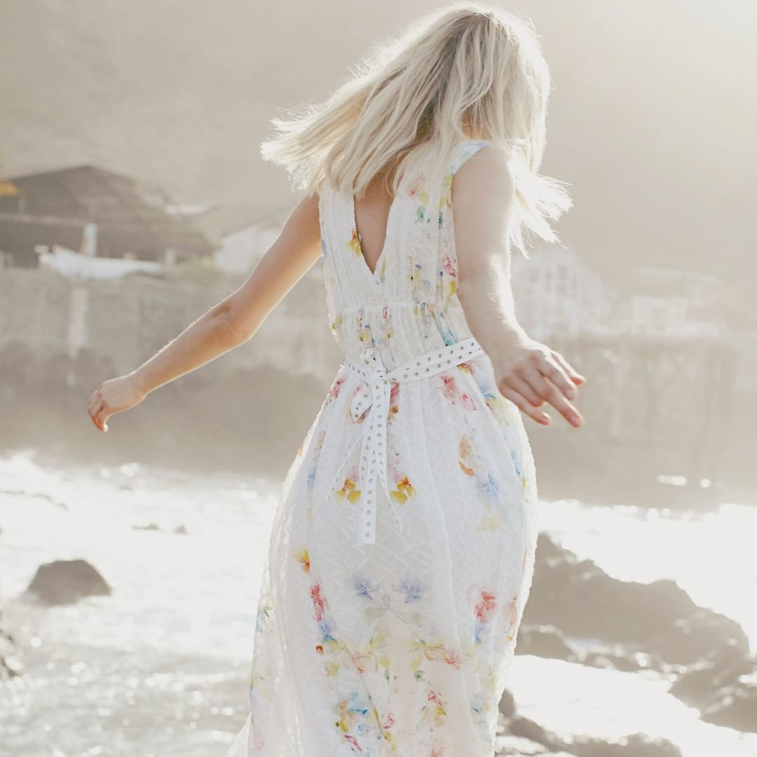long watercolour dress de IKKS sur ikksofficial