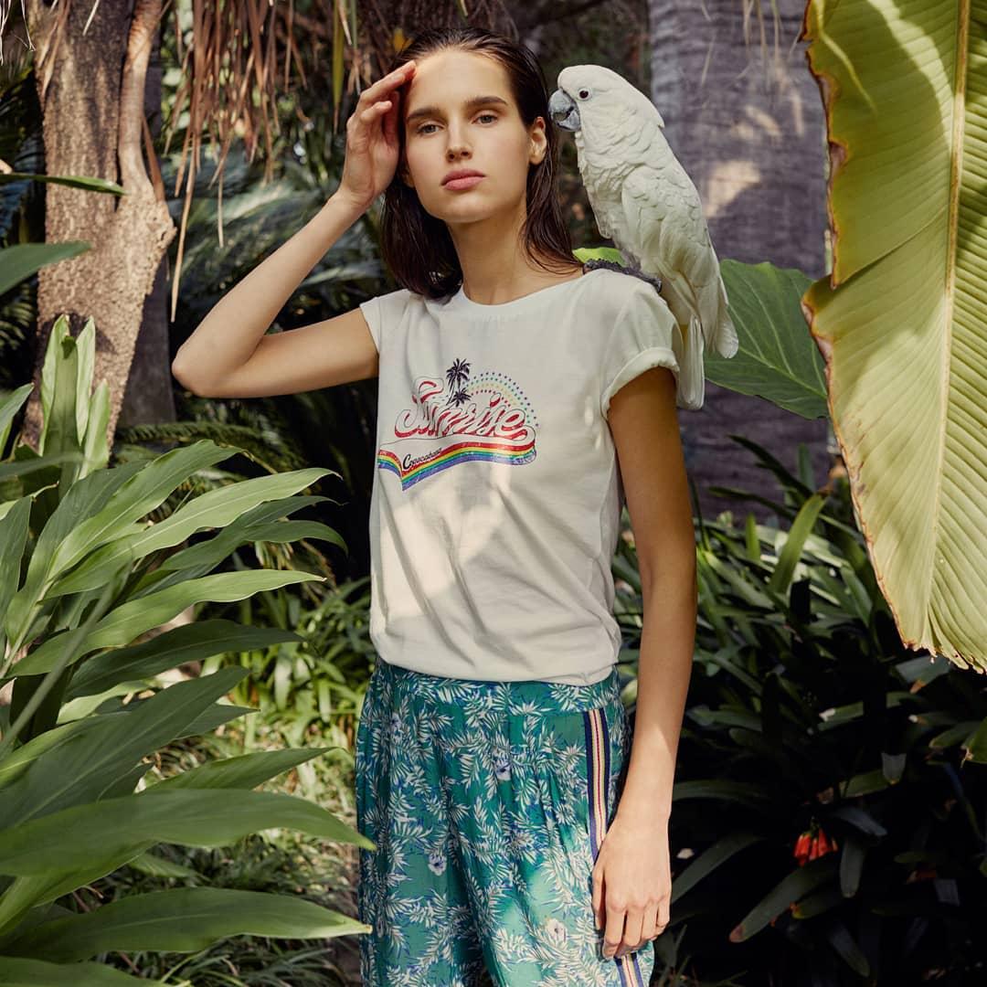 women's sunrise t-shirt de IKKS sur ikksofficial