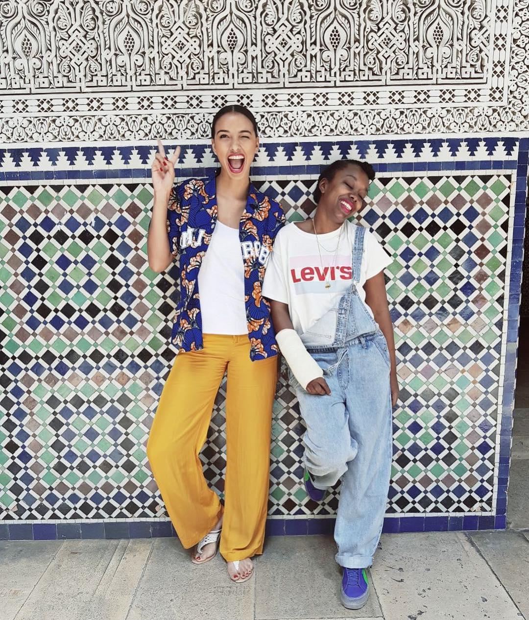 white girls levis t-shirt de Les Bourgeoises sur floracoquerel