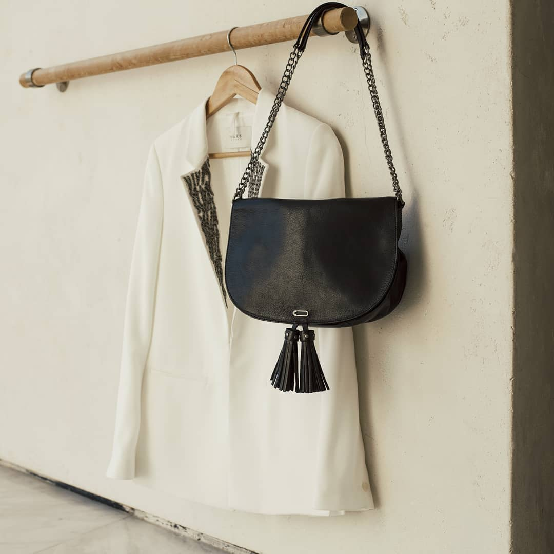 women's leather shoulder bag de IKKS sur ikksofficial