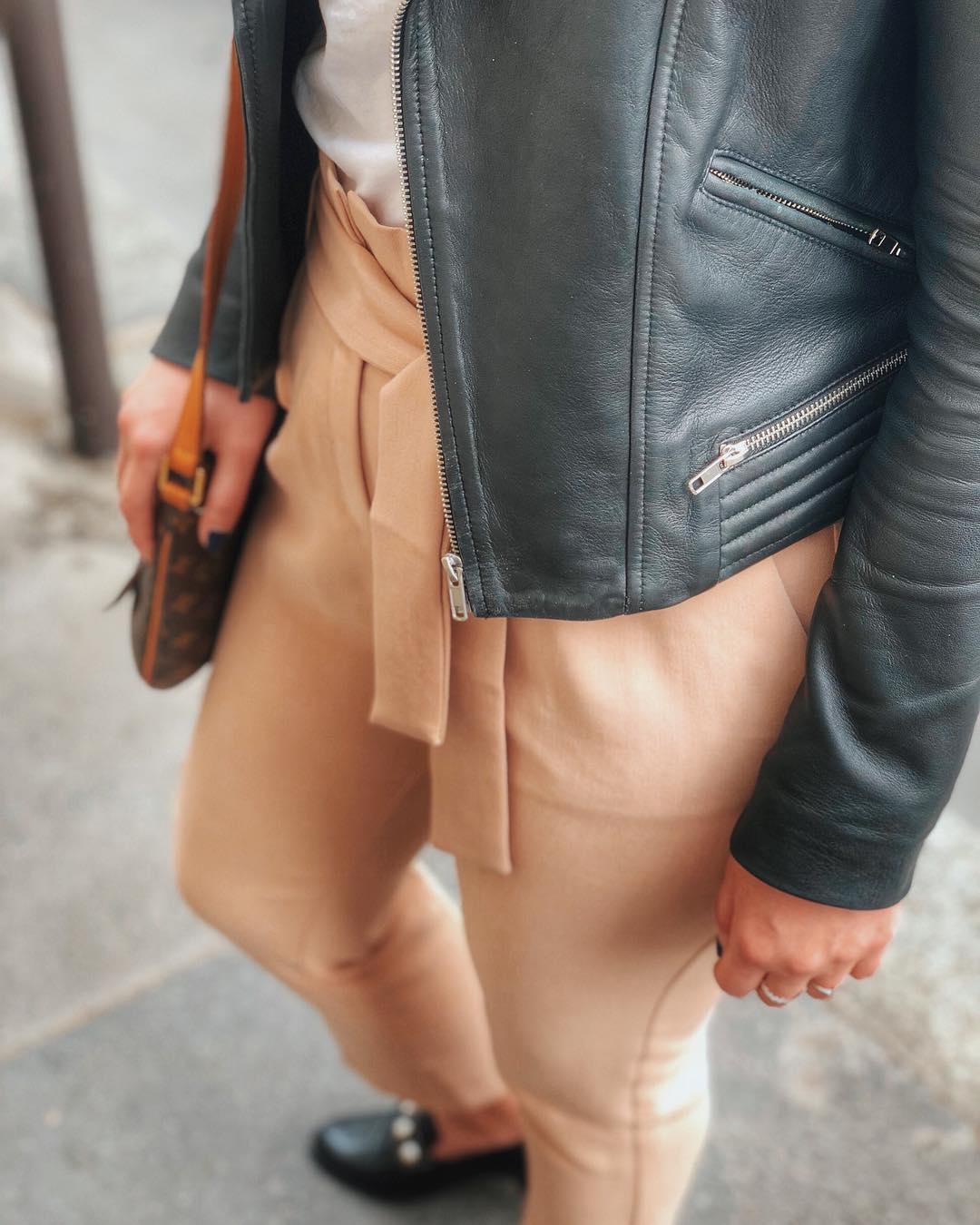 pantalon caramel de Les Bourgeoises sur hello.aude