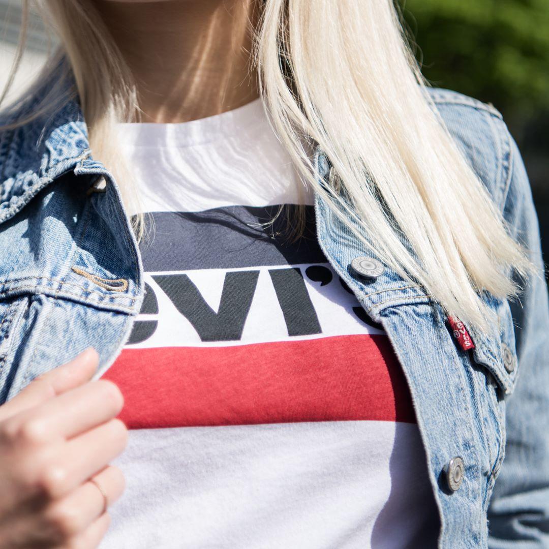 white girls levis t-shirt de Les Bourgeoises sur twoforfashion