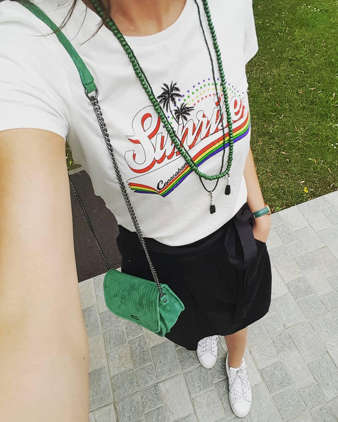 women's sunrise t-shirt de IKKS sur leanestelclem