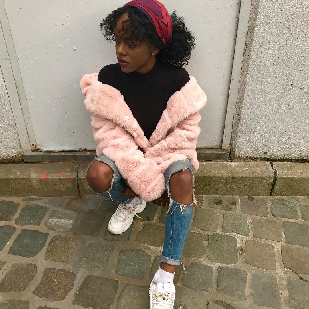 khaki doudou coat de Les Bourgeoises sur thycallme_shady