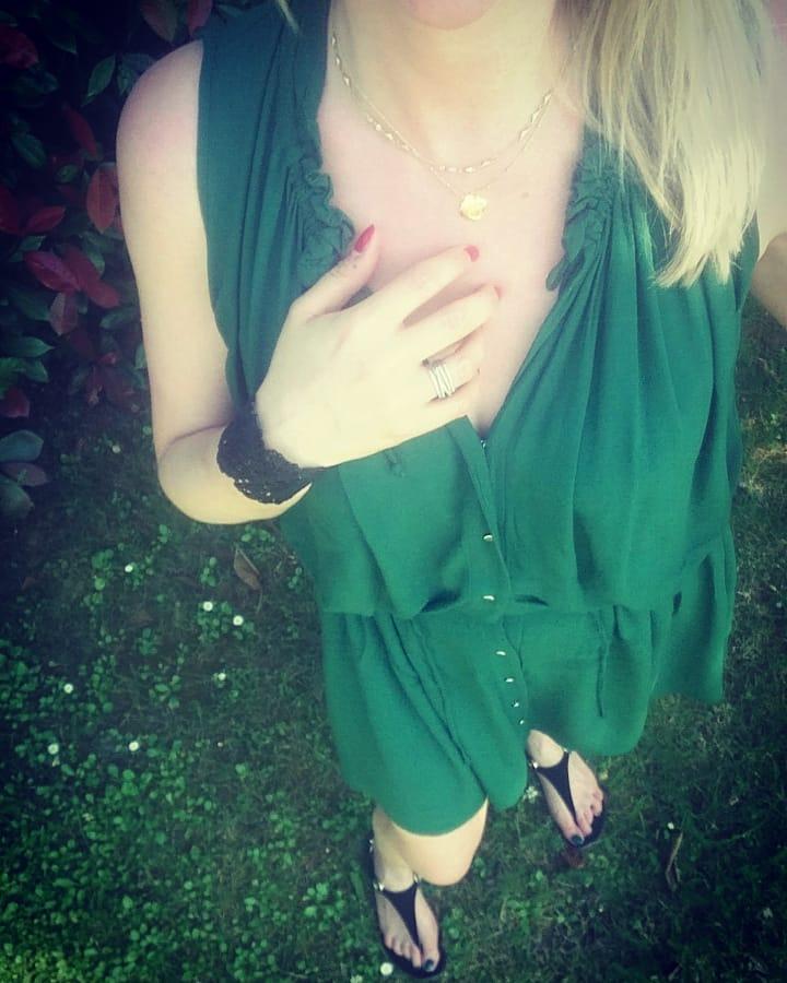 buttoned crêpe dress de IKKS sur ka_rin_rhd