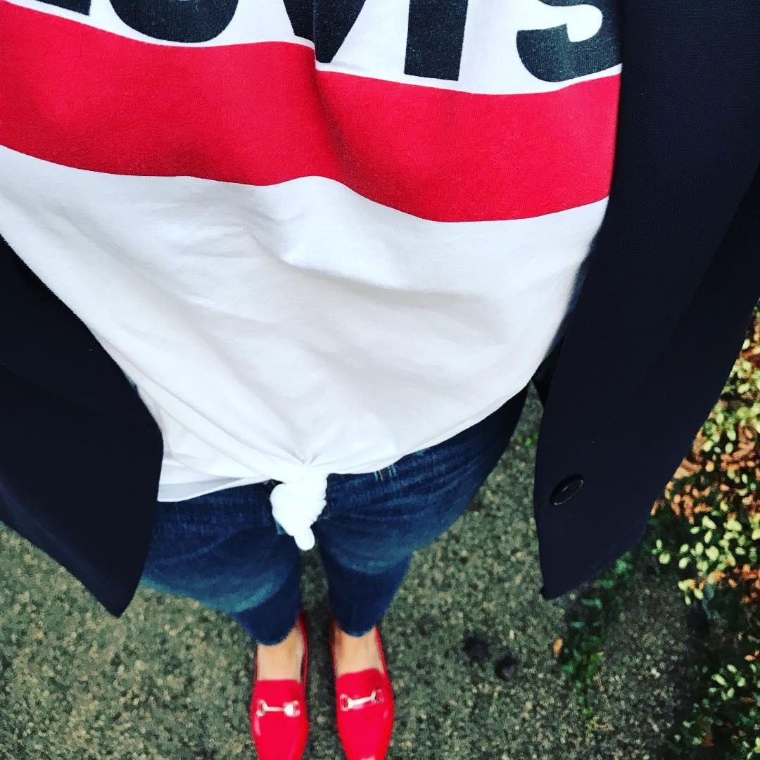 white girls levis t-shirt de Les Bourgeoises sur claire_k_louines