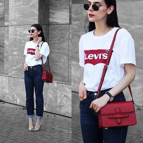 t-shirt levis blanc de Les Bourgeoises sur anita_branddedd2