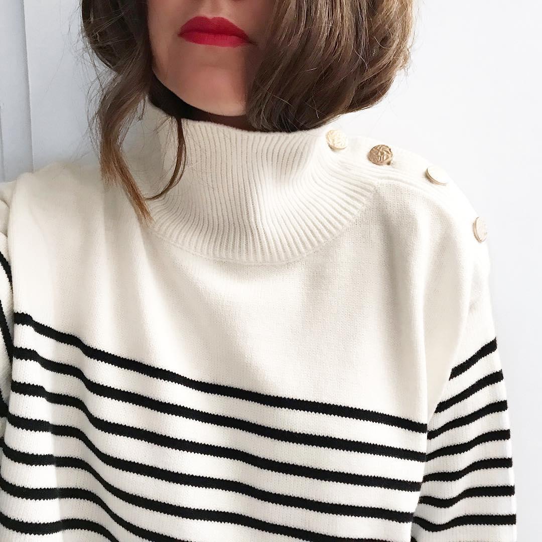 pull marinière will de Les Bourgeoises sur tiffoux
