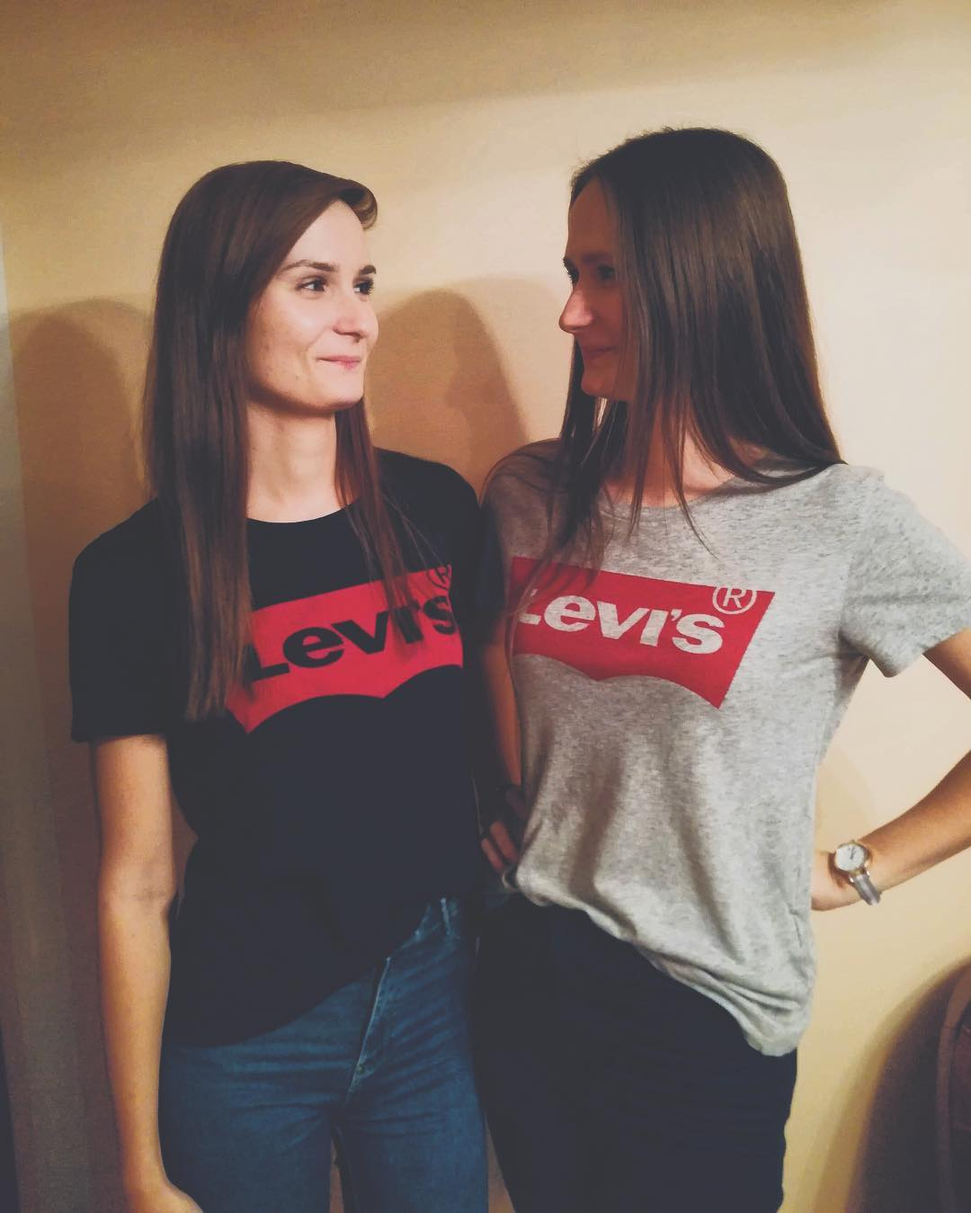 t-shirt levis gris de Les Bourgeoises sur sisters_d_b